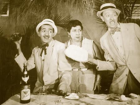 Pototo, Filomeno y Mimi Cal