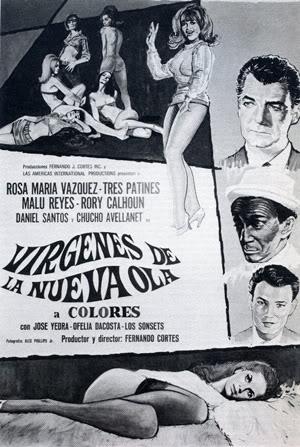 Poster de la película Virgenes de la Nueva Ola, con Trespatines